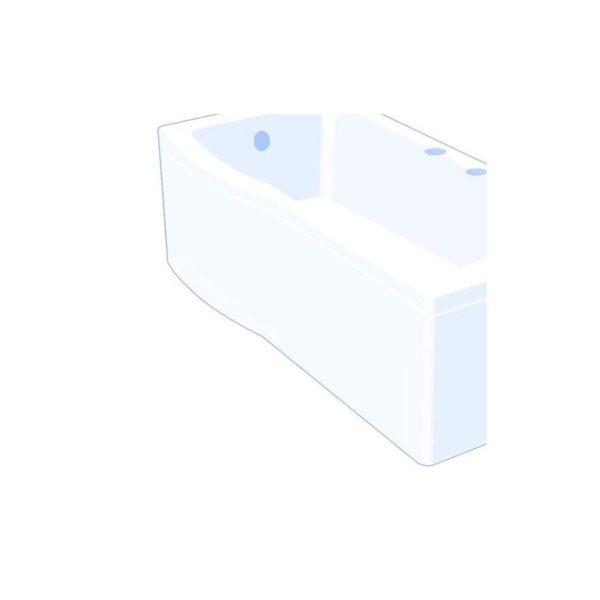 Carron Arc Showerbath Front Panel 1700 x 540mm Carronite