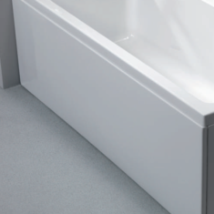 Carron Celsius Bath Front Panel 1800 x 540mm Carronite