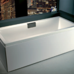 Carron Celsius 1700 x 750 x 430mm Carronite Bath