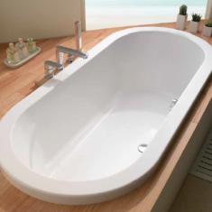 Carron Halcyon Round Inset 1750 x 800 x 450mm Acrylic Bath