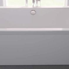 Carron Halcyon Square White 1750 x 800 x 440mm Freestanding Carronite Bath