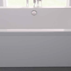 Carron Halcyon Square White 1750 x 800 x 440mm Freestanding Carronite Bath
