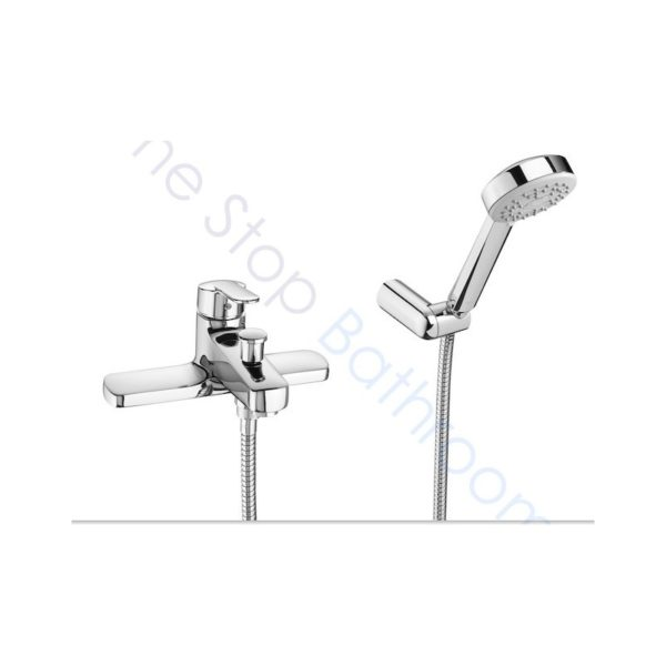 Roca V2 bath shower mixer includes shower kit
