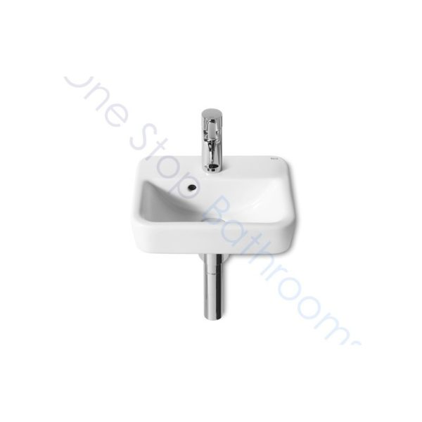 Roca Senso Square Cloakroom Basin 350 Wide