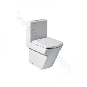 Roca Hall Close Coupled Back-To-Wall WC