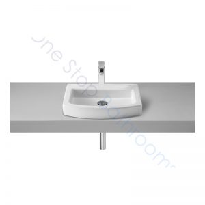 Roca Hall 520mm Countertop Basin with 1TH
