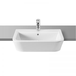 Roca The Gap Original Semi Recessed Basin 560 x 400 x 170mm 1TH