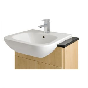 Semi-Recessed Basins