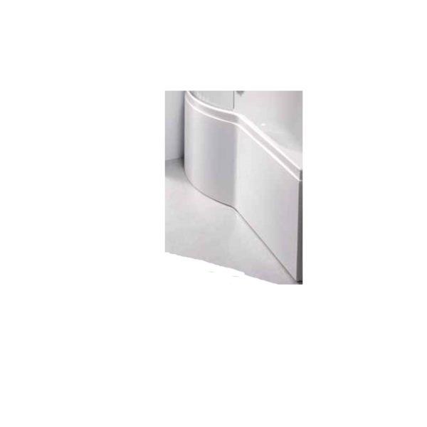 Carron Urban 1700 Shower Bath Front Panel - Carronite