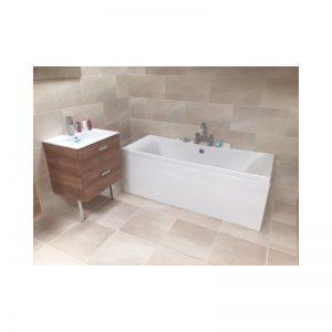Carron Alpha 1700 x 750 x 430mm Acrylic Bath