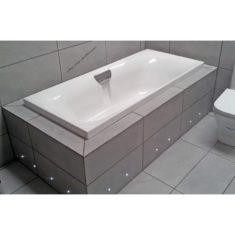 Carron Echelon 1700 x 750 x 420mm Acrylic Double Ended Bath