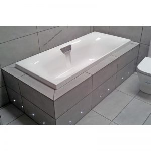 Carron Echelon 1800 x 800 x 440mm Acrylic Double Ended Bath