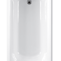 Carron Delta Twin Grip 1650 x 700 x 410mm Acrylic Bath