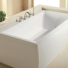 Carron Haiku 1800 x 800 x 450mm Double Ended Acrylic Bath