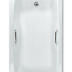 Carron Imperial Twin Grip 1675 x 700 x 400mm Acrylic Bath
