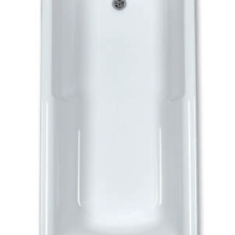 Carron Eco Matrix 1600 x 700 x 345mm Acrylic Bath