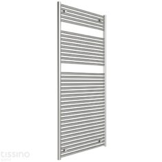 Tissino Hugo2 1652 x 400mm – High Output Towel Radiator – Chrome