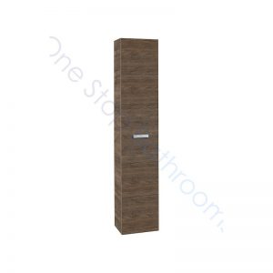 Roca Victoria Basic 1500 x 300mm Tall Column Unit – Textured Cedar
