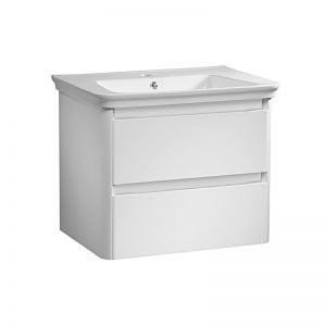Tavistock Equate 700mm Gloss White Wall Mounted Unit & 1TH Basin