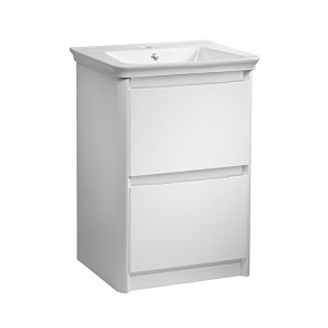 Tavistock Equate White 700mm Floorstanding Basin Unit