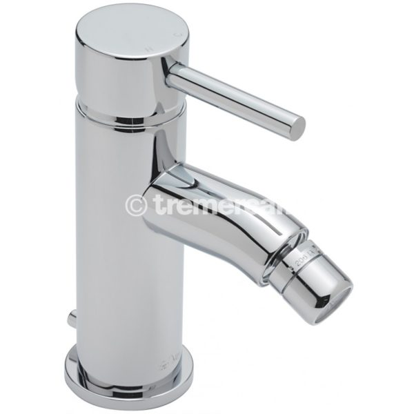 Tre Mercati Milan Mono bidet mixer with pop-up waste