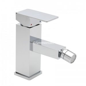 Tre Mercati Edge Mono bidet mixer with pop-up waste