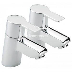 Tre Mercati Angle Pair of bath taps