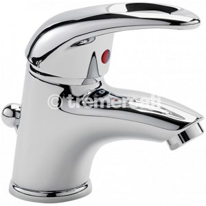Tre Mercati Latina Mini mono basin mixer with pop-up waste