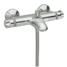 Tre Mercati Thermostatic Wall Mounted Bath Shower Mixer Complete with Kit