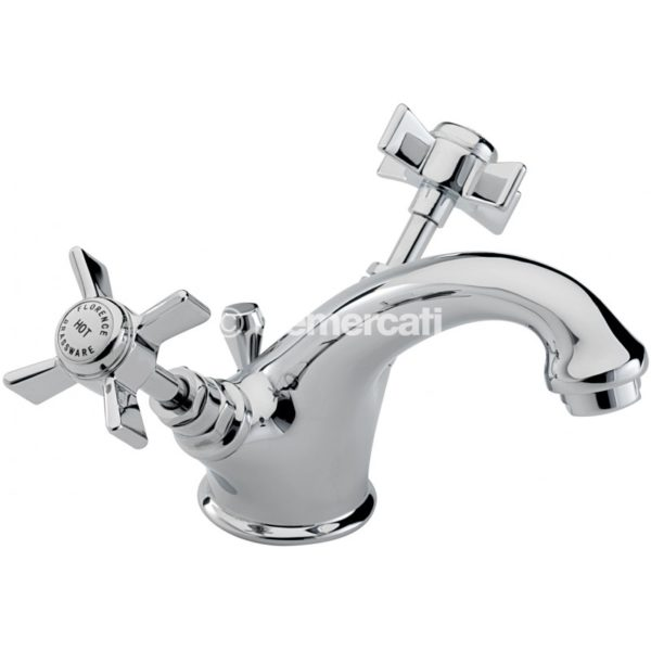 Tre Mercati Florence Mono basin mixer with pop-up waste