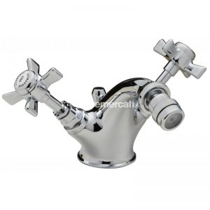 Tre Mercati Florence Mono bidet Mixer with Pop-up Waste