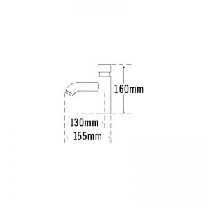 Tre Mercati Non Concussive Temp Tech Basin Tap (single)
