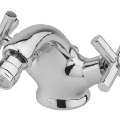 Tre Mercati Maverick Mono bidet mixer with pop-up waste and fixed spout