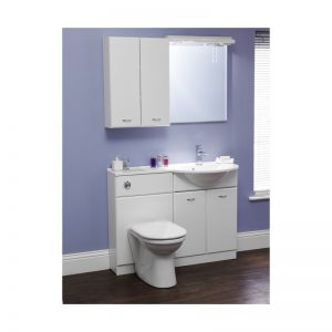 Eastbrook MDF WC Cover For Diamante 50cm WC Unit