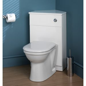 Eastbrook Oslo Corner WC Unit With Top & Plinth