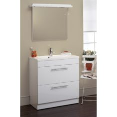 Eastbrook Oslo 80cm 2 Drawer Base Unit and Basin