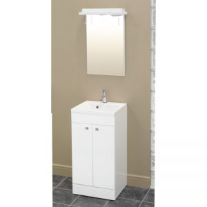 Eastbrook Oslo 44cm Door Base Unit – Gloss White