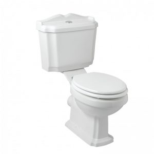 Eastbrook Belgravia WC Pan and Cistern with Soft Close Seat