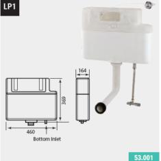 Eastbrook Jacket Hidden Cistern – Bottom Inlet