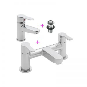 Tre Mercati Lollipop Basin Mono and Bath Filler Tap Pack