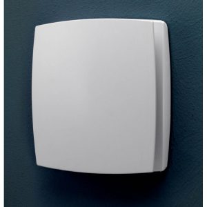 HiB Breeze White Wall Mounted Fan With Timer & Humidity Sensor (31200)