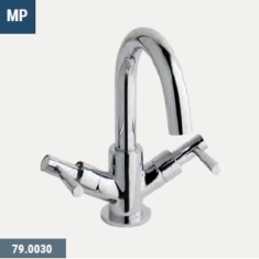 Eastbrook Prado Lever Basin Mono Swivel Spout including pop-up waste