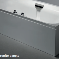 Carron L-Shaped Low Level Carronite Bath Panel – 1600 x 700 x 430mm
