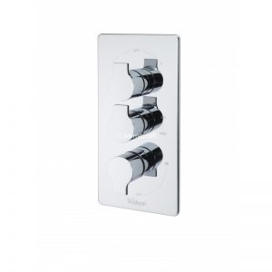Tre Mercati Angle Concealed Thermostatic Shower Valve with 3 way Diverter