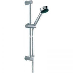 Tre Mercati Angle Concealed Thermostatic Shower Valve with 3 Way Diverter, Slide Rail Kit, Shower Rose & Arm and Overflow Bath Filler Pack