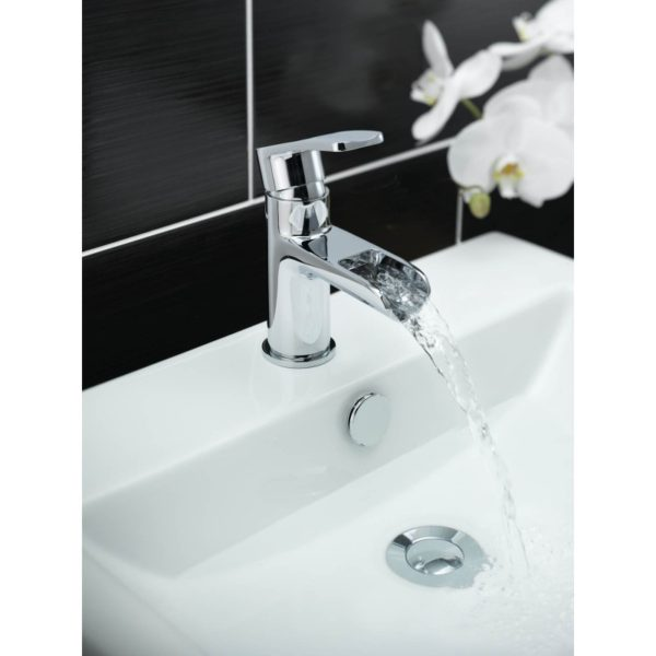 Tre Mercati Ora Mono Basin Mixer with Click Clack Waste