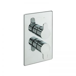 Tre Mercati Lollipop Concealed Thermostatic Valve with 2 Way Diverter