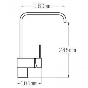 Tre Mercati Times Mono Sink Mixer