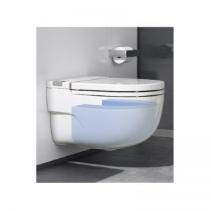 Roca Meridian-N In-Tank WC Wall Hung (I-Shaped Support – Solid Wall)