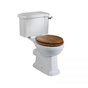 Tavistock Vitoria Close Coupled WC Pan, Cistern & Soft Close Seat
